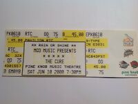 The Cure Concert ticket  2000 Michigan show................{{FREE SHIPPING}}