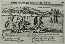 Kupfstich 1623-Elsinore Helsingør-Meisner