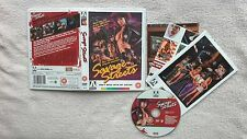 Savage Streets DVD Linda Blair RARE OFFICIAL UK R0 ARROW RELEASE WITH POSTER VGC