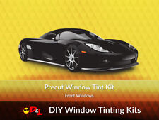 Pre-cut Window Tint Kit - Front Windows Only for ALL VEHICLES