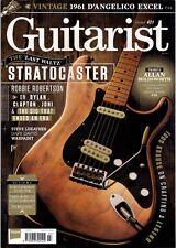 Guitarist Magazine Issue 421 July 2017, Robbie Robertson Stratocaster, Vox MV50s