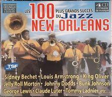 Les 100 Plus Grands Succès du Jazz New Orleans - Coffret 4 CD