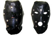 AW901 Original Leather Hood,Detached Blindford,Leather mask,ledermaske,Masque