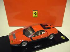 FERRARI 512BB 512 BB rouge intérieur beige 1/43 KYOSHO 05011RS voiture miniature