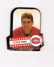 STEVE PENNEY MONTREAL CANADIENS RC 3 STICKER LOT