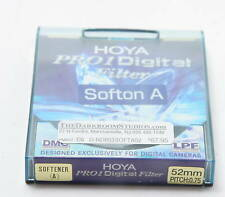 Hoya Pro1 Soft A Digital 52mm DMC LPF Photo Filter NEW