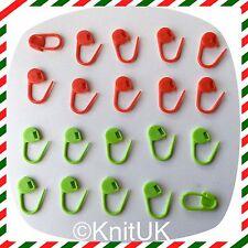 Marcadores de punto de bloqueo de color de navidad knituk. paquete De 20-Edición Especial