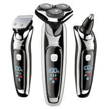 HATTEKER Electric Shaver Facial Electric Razor for Men Cordless Grooming Kit