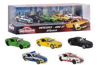 Majorette Model Car metal 5 Pack Gift Set Mercedes Benz AMG GT Giftpack German