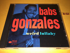 BABS GONZALES cd WEIRD LULLABY 20 hits OOP POP A DA stompin at savoy (BLUE NOTE)