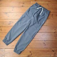Reebok 2016 Speedwick Grey Jogging Bottoms Lined Soft Shell Pants Size UK Small