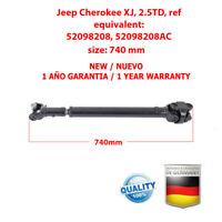 Albero Trasmissione Cardanico Jeep Cherokee XJ, 2.5TD, 52098208, 52098208AC, NEW