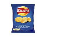 Walkers Cheese and Onion Crisps Pack of 20 Bags