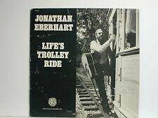 Jonathan Eberhart - Life's Trolley Ride, Folk-Legacy records FSI-82, 1981 LP