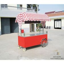 Mobile Food Cart Stand -Certified, Stainless Steel, Customized for Any Operation