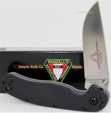 NEW Ontario RAT-2 Super Fine Edge AUS-8 Linerlock Folding Pocket Knife