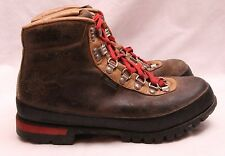 Raichle REI Mountaineering Brown Leather Lace Up Hiking Ankle Boot Men's U.S.8.5