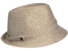 Karen Kane Lux Braid Fedora-Taupe Heather-1 SFM-NWT
