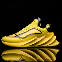 Mens Personality Running Shoes Casual Sports Breathable Tennis Sneakers Walking