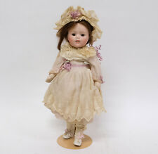Antique Bisque Head Character Doll
