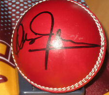 Brian Lara (West Indies) signed Red Cricket Ball + COA + Photo Proof