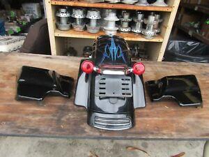 DOMESTIC BLACK LOADED REAR FENDER ASSEMBLY HARLEY DAVIDSON FLHX 60575-10