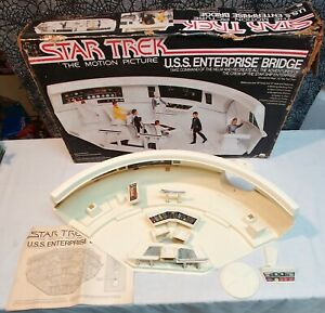 Star Trek The Motion Picture Mego Enterprise Bridge Playset Vintage 1980 Rare