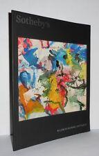 WILLEM DE KOONING - UNTITLED V - Sotheby's - 1st Edition