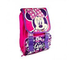 Zaino Estensibile MINNIE Disney con Tasca Frontale Scuola 28x38 cm