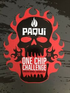 🔥 2020 🔥 Paqui One Chip Challenge Carolina Reaper Shipped Directly From Paqui