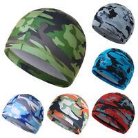 Outdoor Thin Moisture Wicking Cooling Skull Cap Inner Liner Helmet Beanie Cap