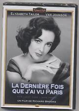 NEUF DVD LA DERNIERE FOIS QUE J AI VU PARIS SOUS BLISTER ELISABETH TAILOR JOHSON