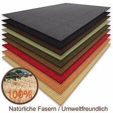 Floordirekt 100 % reines Sisal Teppich in verschiedenen Farben 100 x 100 cm