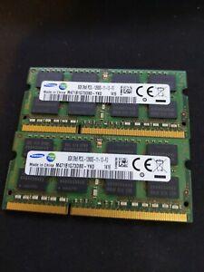 16GB (2x8GB) Samsung 2Rx8 PC3L-12800S DDR3 Laptop Memory M471B1G73DB0-YK0