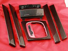 ORIGINAL Audi A3 S3 RS3 8P Dekorleisten Aschenbecher Schaltrahmen echt Carbon