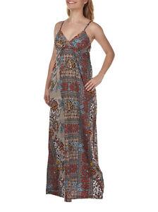 Rip Curl Vintage Vantage Maxi Dress *100% Cotton * SIZE 14 REDUCED RRP $90
