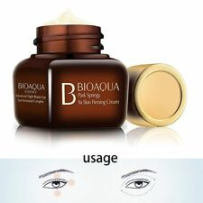 Night Moisturizing Eye Cream Remove Dark Circles Bags Face Line Ageless Wrinkles