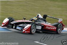 "Formula E Driver Bruno Senna Hand Signed Photo 12x8"" Autograph AA"