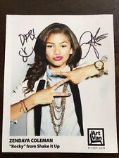 "Zendaya Coleman 8x10 Signed Autograph ""Rocky"" Shake It Up Original Signed Photo"