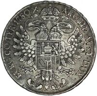 AUSTRIA coin Thaler 1780 ORIGINAL, NOT RESTRIKE !!! Gunzburg mint VF Very Fine