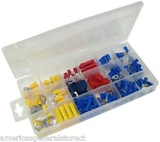 160 pcs ASSORTED WIRE TERMINALS auto electronics audio video electrical