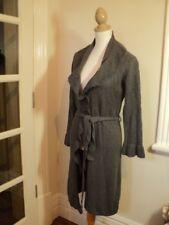 best long grey  cardigan jacket S   stretch