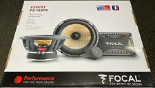"FOCAL PS 165 FX Expert Flax Cone 6.5"" 2-Way Component Speakers - US SELLER"