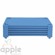 6 NEW DAYCARE CHILDCARE NAP COTS STACKING SLEEPING COTS ELR-16112-BL