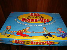 Kids Battle The Grown Ups Trivia Board Game University Games 2002 Complete