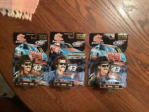 3 Racing Champions Richard Petty 50th Anniversary 1988, 1992 And 1995 NASCAR