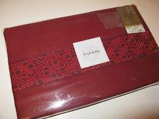 Natori TANGKA King Flat Sheet Biking Red NEW