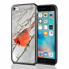 Red Bird Winter For Iphone 7 (2016) & Iphone 8 (2017) Case Cover