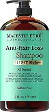 Hair Loss and Hair Regrowth Shampoo for Men & Women From Majestic Pure Offers