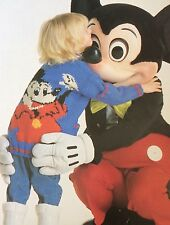 Disney Mickey Mouse Kids Jacket Knitting Pattern